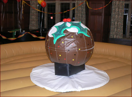 Rodeo Christmas Pudding